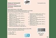 Stepan Simonian, Niklas Schmidt - Zehn Präludien nach J.S.Bach/Sonate für Violoncel [CD]
