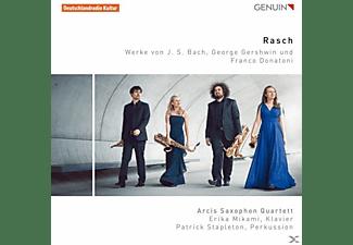 Arcis Saxophon Quartett - Rasch-Werke für Saxophonquartett  - (CD)