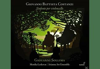 Andrea Rigano, Monika Leskovar, Paolo Rigano, Cinzia Guarino, Arianna Art Ensemble, Gianluca Ubaldi Pauke, Giovanni Battista Costanzi - Sinfonie per Violoncello  - (CD)