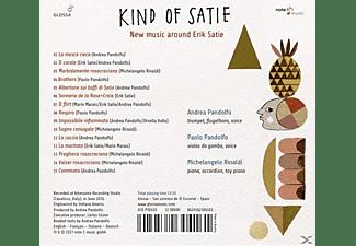VARIOUS - Kind of Satie-New Music around Satie  - (CD)