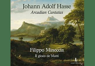 Francesco Corti, Giulio Quirici, Federico Toffano, Giulia Barbini, Filippo Mineccia - Arcadian Cantatas  - (CD)