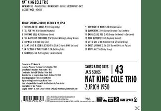 Nat King Trio Cole - Swiss Radio Days Vol.43-Zurich 1950  - (CD)