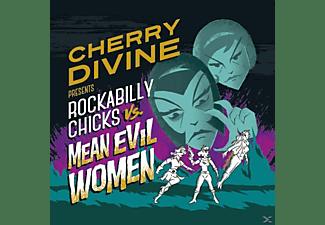Cherry Divine - Rockabilly Chicks Vs. Mean Evil Women  - (CD)