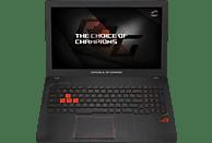 ASUS ROG Strix GL553VD-FY076T, Gaming Notebook, Core™ i7 Prozessor, 1 TB HDD, 512 GB SSD, GeForce GTX 1050, Schwarz