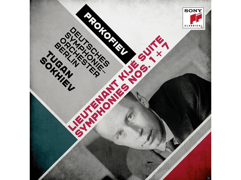 Tugan Sokhiev, VARIOUS, Deutsches Symphonie-orchester Berlin - Suite Leutnant Kische/Sinfonien 1+7 [CD]