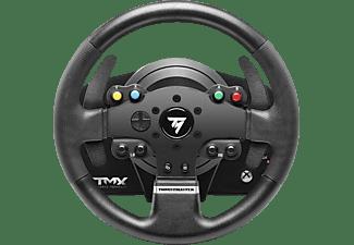 THRUSTMASTER TMX Force Feedback (inkl. 2-Pedalset, Xbox One / PC / Xbox Series X|S), Lenkrad, Schwarz