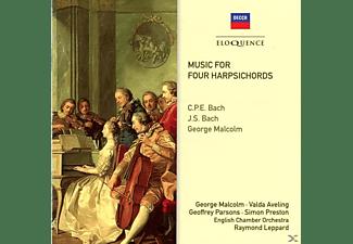 Valda Aveling, Geoffrey Parsons, English Chamber Orchestra, Preston Simon - Musik für vier Cembali  - (CD)