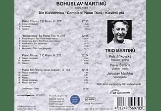 Trio Martinu - Sämtliche Klaviertrios  - (CD)