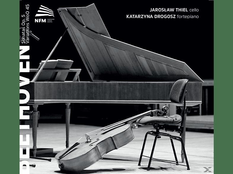 Thiel,Jaroslaw/Drogosz,Katarzyna - Sonaten op.5/Variationen [CD]