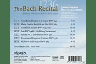 Matthias Grünert - 1736: The Bach Recital [CD]