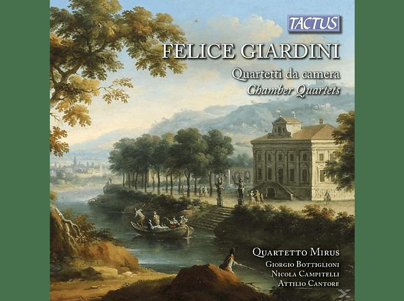 Quartetto Mirus - Kammerquartette [CD]