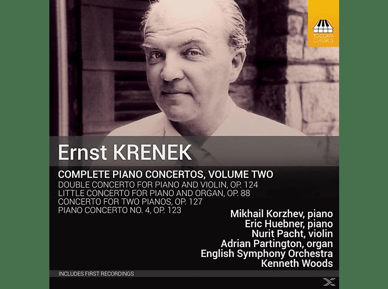 Mikhail Korzhev, English Symphony Orchestra, Eric Huebner, Nurit Pacht, Adrian Partington - Sämtliche Klavierkonzerte Vol.2 [CD]