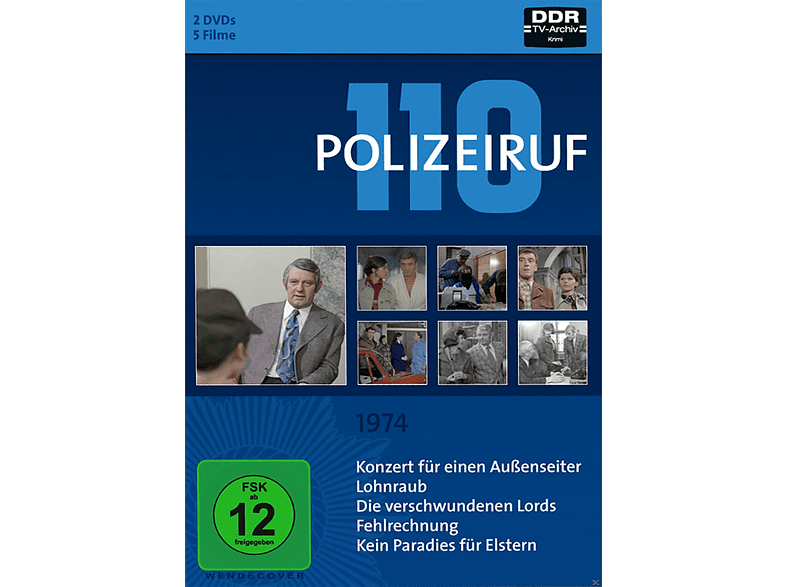 Polizeiruf 110 - Box 3 (1974) [DVD]