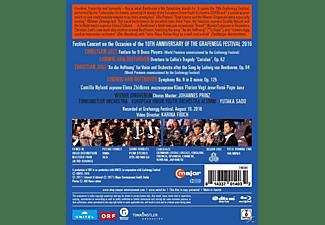 Sado/Nylund/Vogt/Pape/Wr.Singv - Sinfonie 9/Coriolan-Ouvertüre/+  - (Blu-ray)