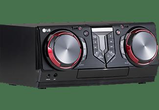 LG ELECTRONICS Kompakt Anlage CJ44 mit 480 Watt, Auto DJ, Karaoke Star