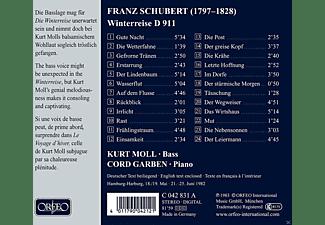 Kurt Moll, Cord Graben - Winterreise-Liederzyklus nach Wilhelm Müller  - (CD)