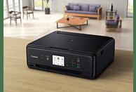 CANON PIXMA TS5055 + 50 Blatt Fotopapier PP-201 Tintenstrahl 3-in-1 Multifunktionsdrucker WLAN