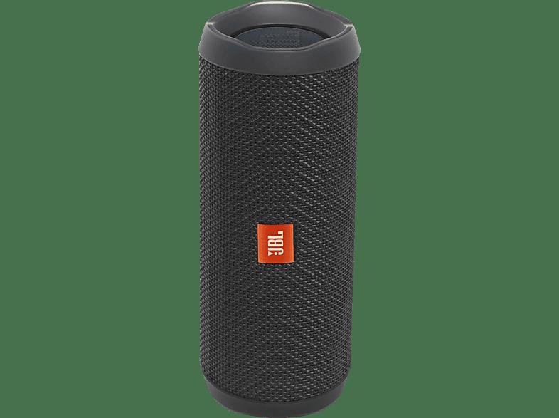 JBL Flip 4 Bluetooth Lautsprecher, Schwarz, Wasserfest
