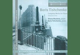 Dinara Mazitova - Complete Works For Piano Vol.1  - (CD)