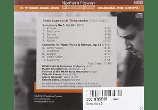 Maxim Schostakowitsch, Radio So Moscow - Sinfonie 5/Klavierkonzert/Konzert für Flöte/+  - (CD)