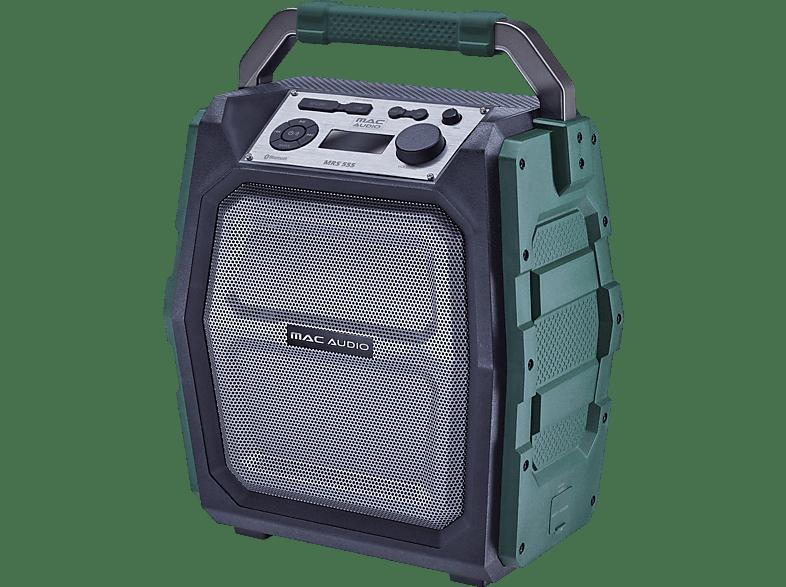 MAC AUDIO MRS 555 Soundblaster, Schwarz