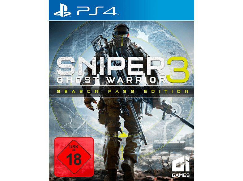 Sniper Ghost Warrior 3 Season Pass Edition [PlayStation 4]