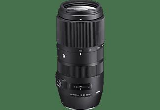 SIGMA 729955 Contemporary 100 mm - 400 mm f/5-6.3 DG, OS, HSM (Objektiv für Nikon F-Mount, Schwarz)