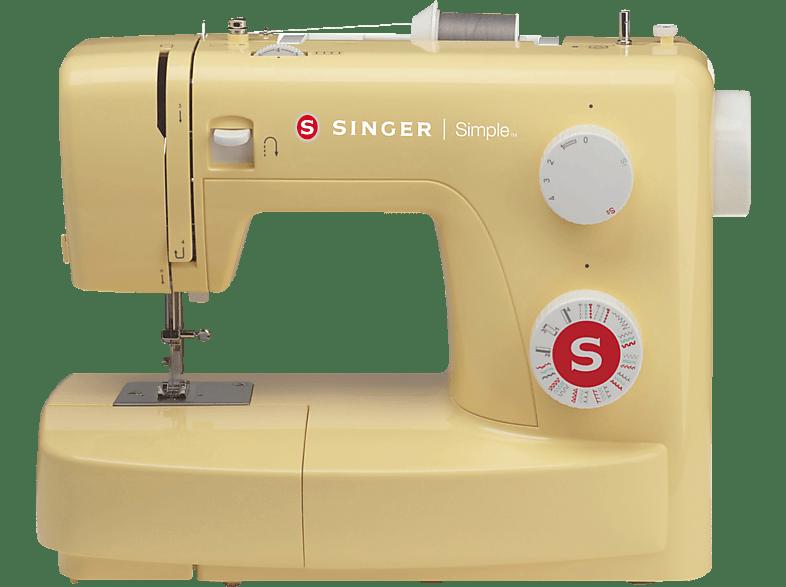 SINGER 3223 Simple Freiarm-Nähmaschine ([85 Watt, Knopflochautomatik)