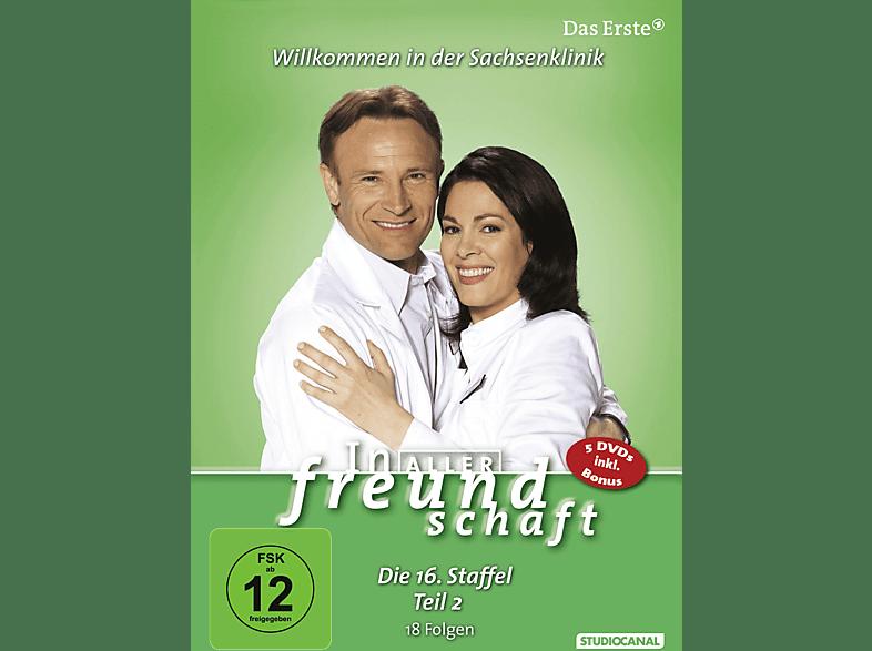 In aller Freundschaft - 16. Staffel Teil 2 [DVD]