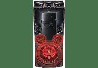 Altavoz de gran potencia - LG OM5560, 500 W, Bluetooth, Karaoke, USB, CD, Aux, Radio FM, Efectos DJ, Negro