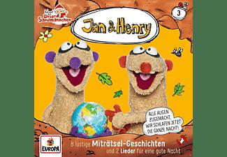 Jan & Henry - 003/8 Rätsel und 2 Lieder  - (CD)