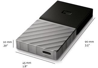 WESTERN DIGITAL WD My Passport SSD 1 TB, 2,5 Zoll