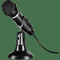 SPEEDLINK CAPO - USB Tisch- und Handmikrofon PC, Mikrofon Schwarz