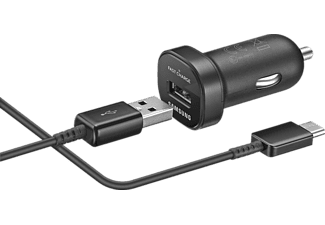 Cargador Usb Para Coche Samsung Ep Ln930 18 W Usb Type C Negro