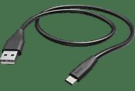 HAMA Essential Line, Datenkabel, 1.5 m, Schwarz