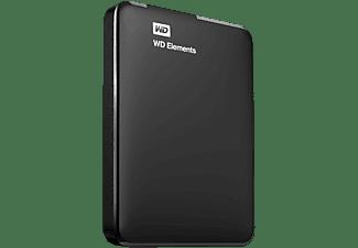 WD Elements™, 750 GB HDD, 2,5 Zoll, extern, Schwarz