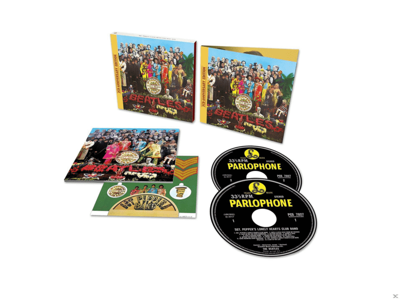 The Beatles Sgt Pepper S Lonely Hearts Club Band Anniversary Edition 2cd Deluxe Edition Cd Kopen Mediamarkt