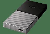 WD My Passport™ SSD 1 TB, 1000 GB SSD, extern, Schwarz/Silber