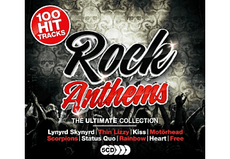 VARIOUS - Ultimate Rock Anthems - (CD)