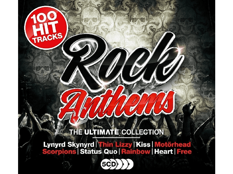 VARIOUS - Ultimate Rock Anthems [CD]