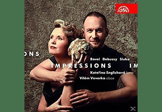 Katerina Englichova, Veverka Vilem - Impressions-Werke für Harfe & Oboe  - (CD)