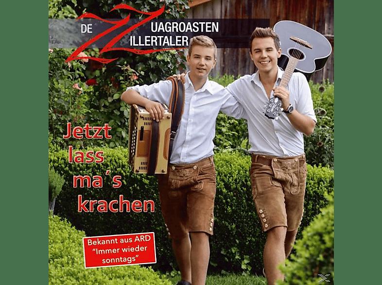Zz-de Zuagroasten Zillertaler - Jetzt lass mas krachen [CD]