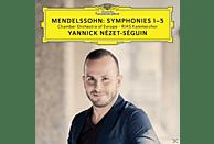 Yannick Nezet Seguin, Regula Mühlemann, Karina Gauvin, Daniel Behle, Rias Kammerchor, Chamber Orchestra Of Europe - Sinfonien 1-5 [CD]