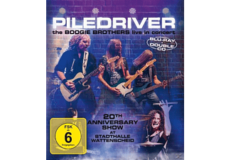 Piledriver - The Boogie Brothers Live In Concert - (CD + Blu-ray Disc)