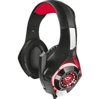 TRUST Trust GXT 313 Nero Beleuchtetes Gaming-Headset Gaming Headset Schwarz/Rot