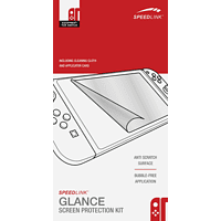 SPEEDLINK Glance Screen Protection Kit Nintendo Switch Schutzfolie, Transparent