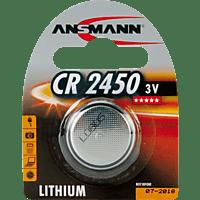 ANSMANN CR2450 Knopfzelle, Silber