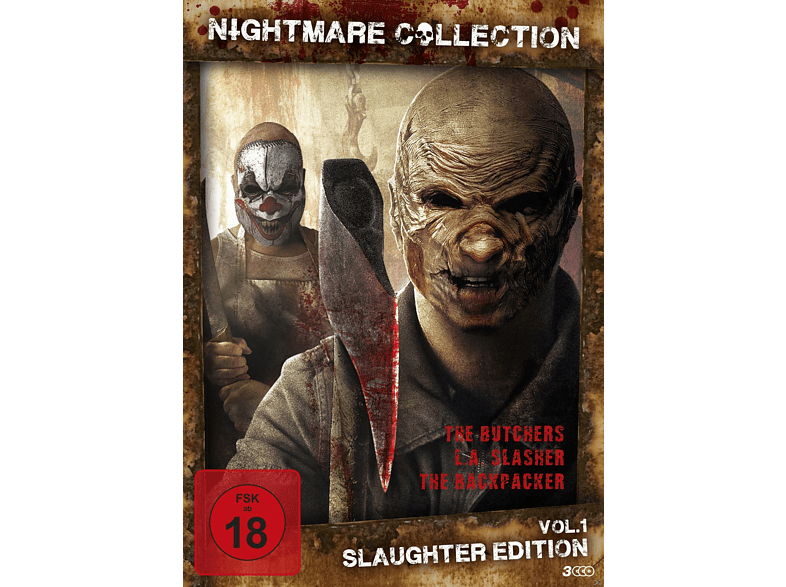 Nightmare Collection 1 (Slaughter Edition) [DVD]
