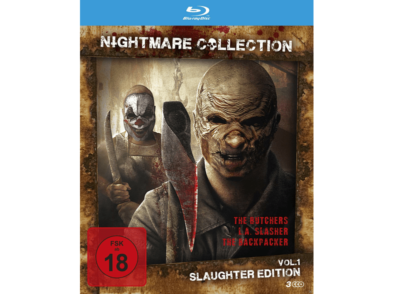 Nightmare Collection 1 (Slaughter Edition) [Blu-ray]