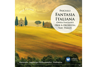 Christoph Hartmann, Augsburger Philharmoniker - Fantasia Italiana-Opernfantasien für Oboe  - (CD)